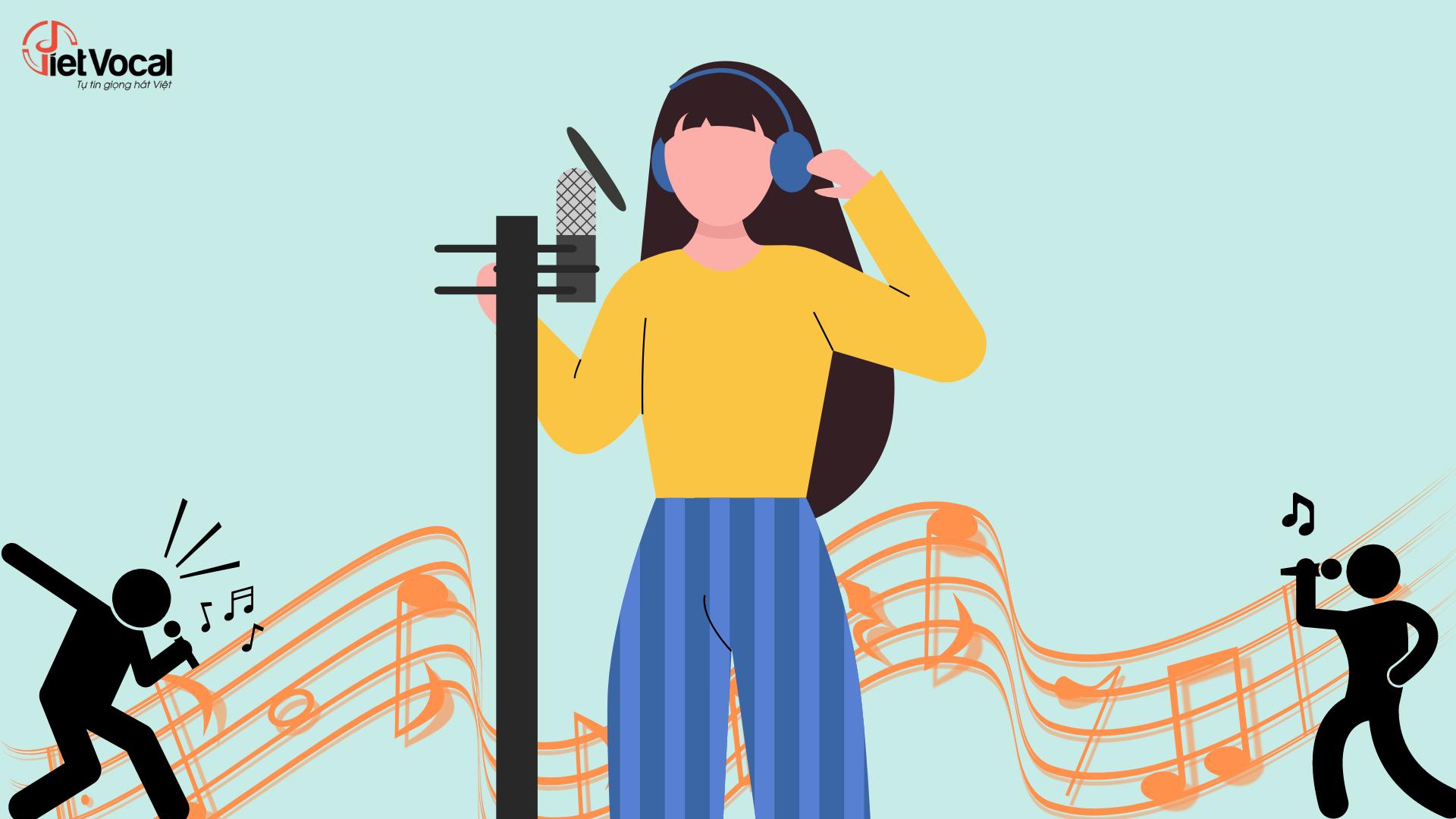 Thu âm giọng hát của bạn