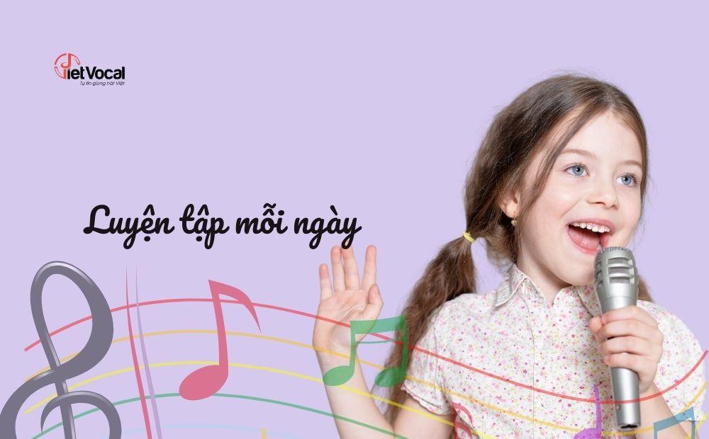 Luyện hát mỗi ngày