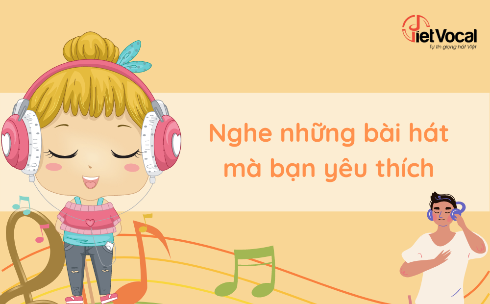 Nghe những bài hát yêu thích