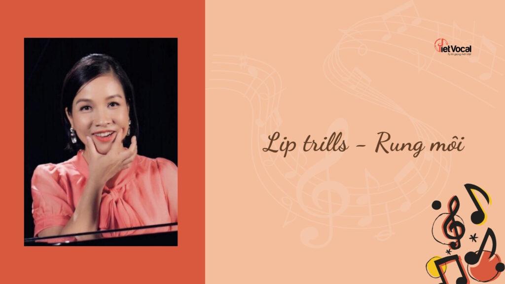 Lip trills - Rung môi
