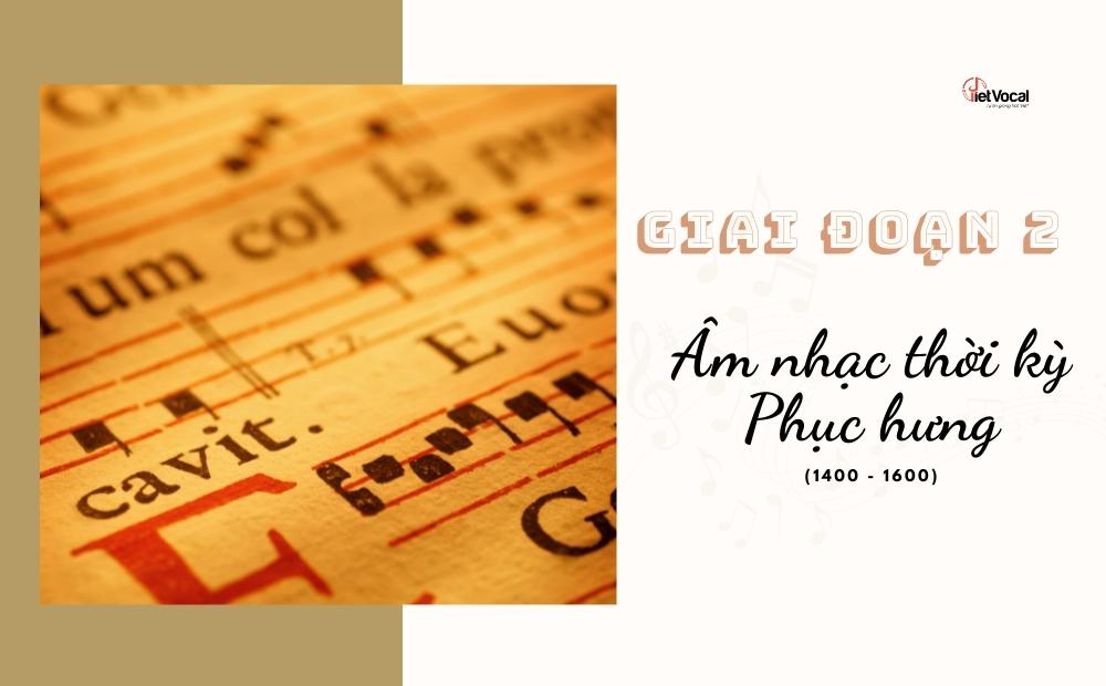 Âm nhạc thời kỳ Phục Hưng